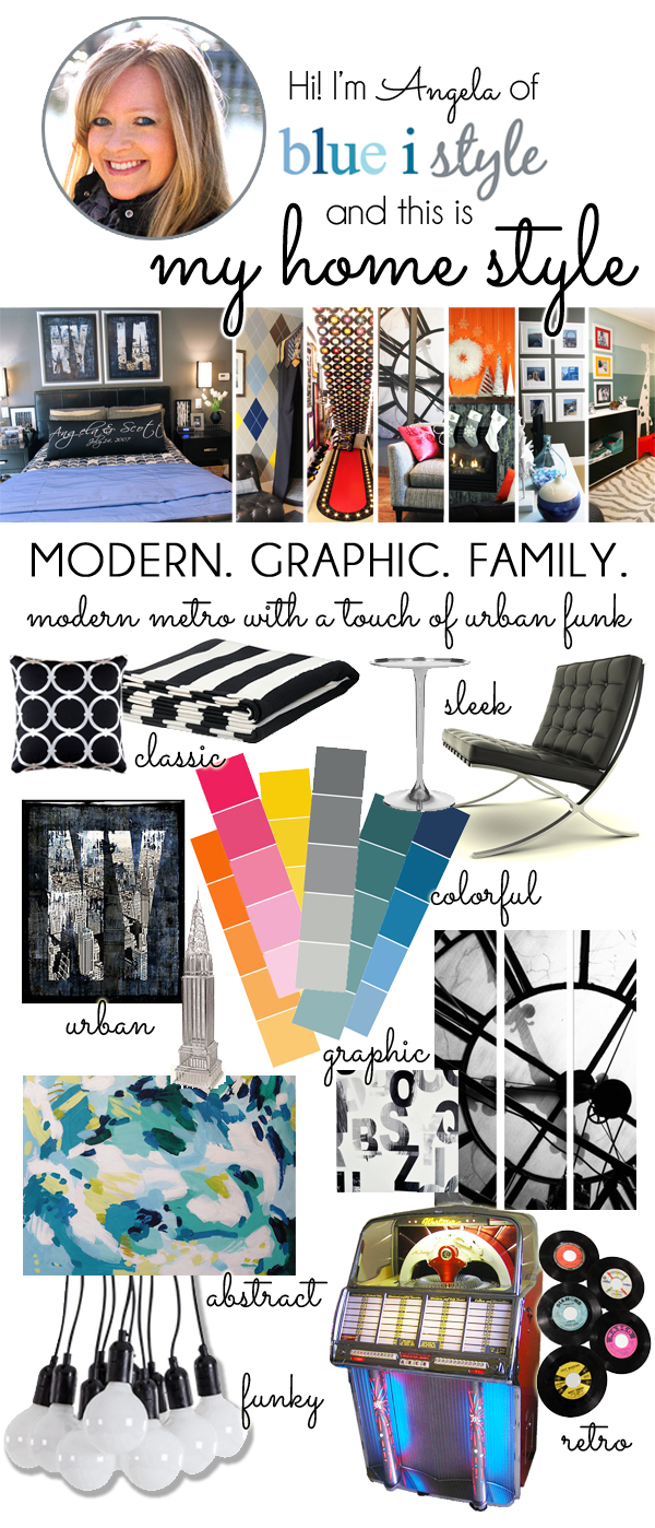 My Design Style: Modern, Graphic, Family