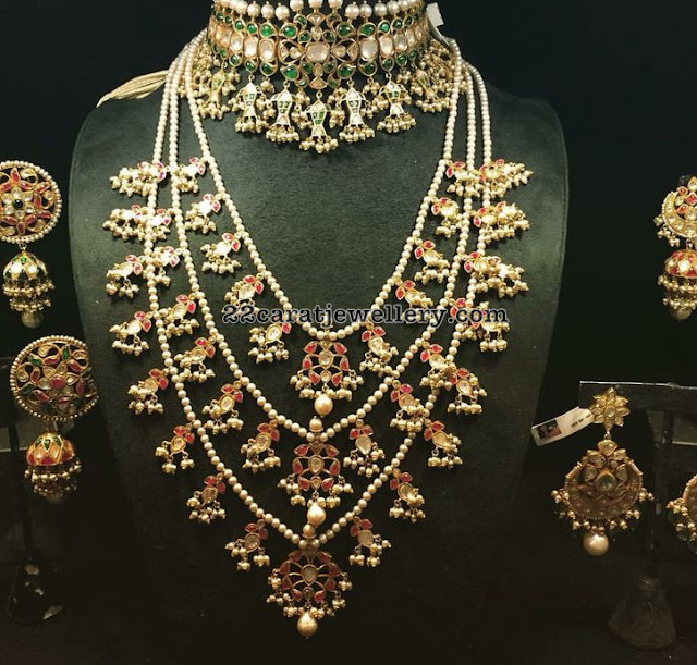 Hyderabadi Traditional Pearls Sets