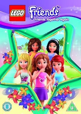 Lego Friends Friends Together Again 2015 DVD R1 NTSC Latino