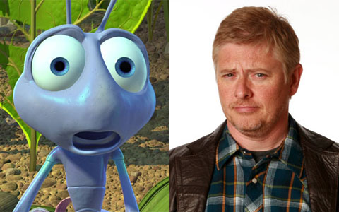 Dave Foley as Flik in A Bug's Life animatedfilmreviews.filminspector.com