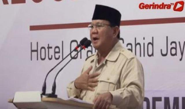 Prabowo Tulis Surat Wasiat, Fadli Zon: Beliau Wakafkan Diri untuk Rakyat