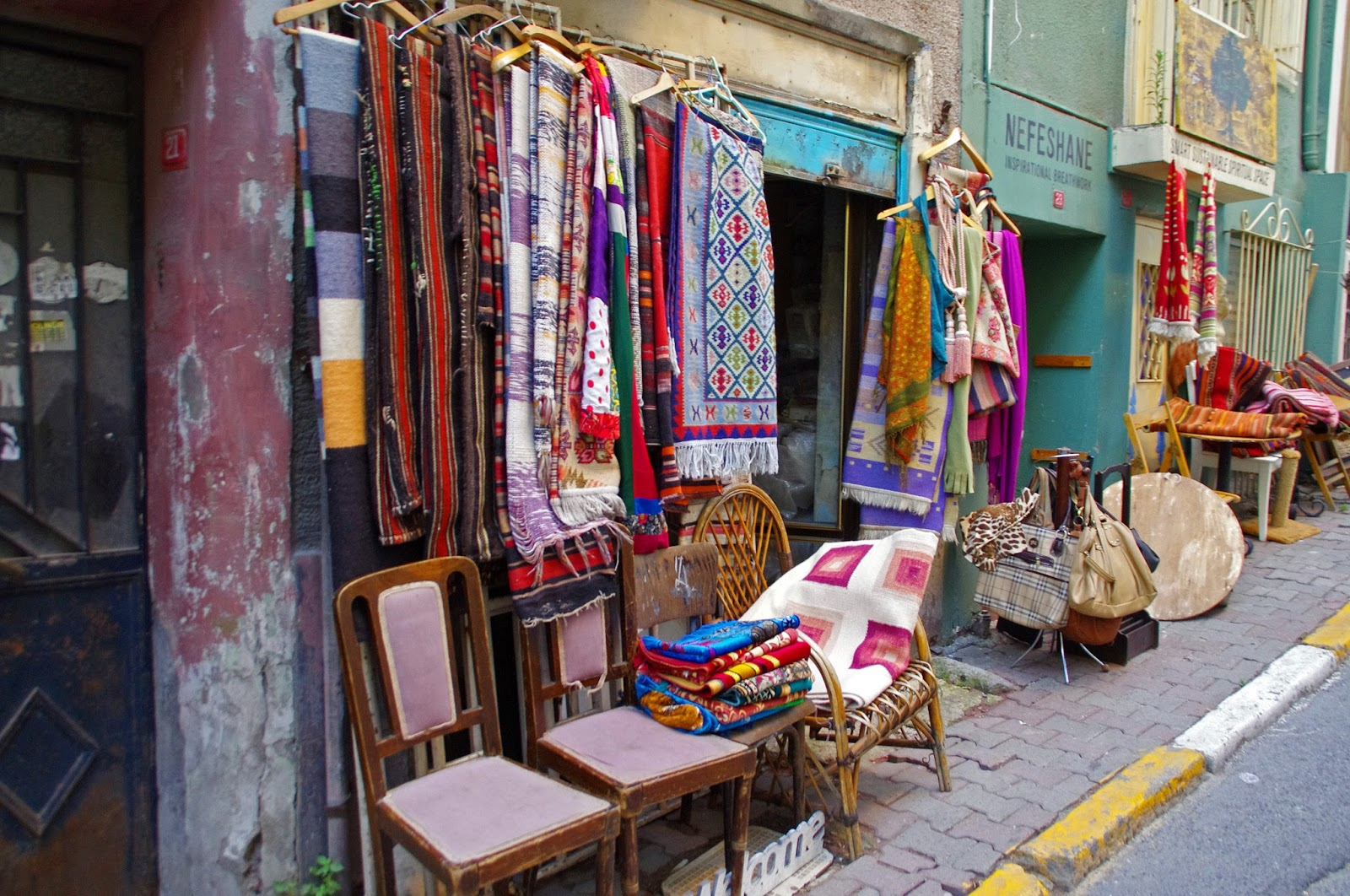 Rug shop in Istanbul
