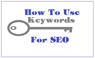 use keywords for seo