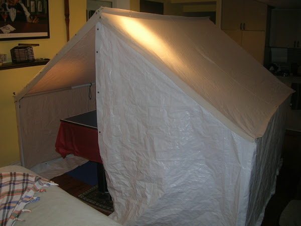 Homemade Wall Tent Inspired By Robin Canoetripping Net