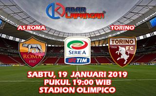 Prediksi Bola AS Roma vs Torino 19 Januari 2019