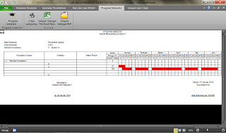 proses penyebaran kd pada masing-masing kalender