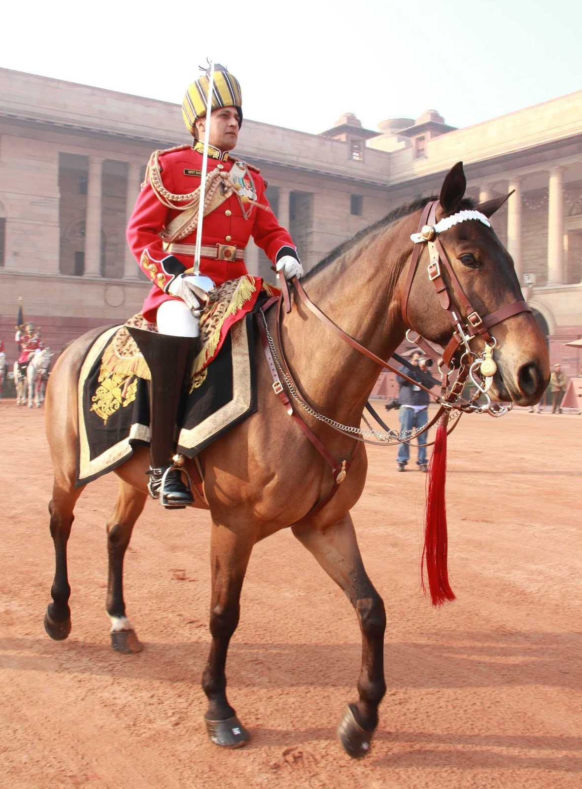 The President's Bodygaurds | Why only Rajputs, Jat Sikhs and
