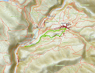 Mapa Páramo del Sil
