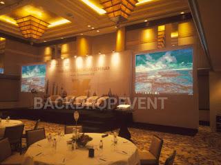 jasa pasang backdrop murah