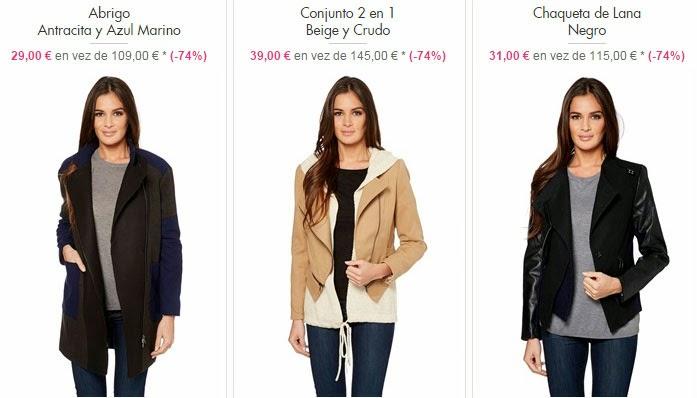 Ejemplos de ropa de abrigo y chaquetas