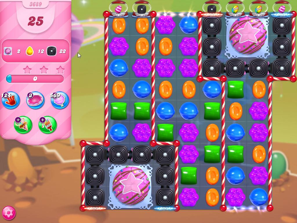 Candy Crush Saga level 3689
