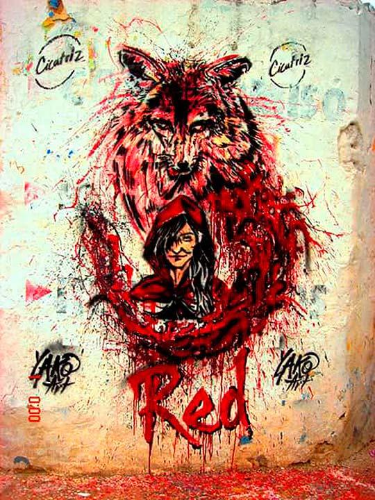 Pintura de Erly Rico Saucedo aka Yako