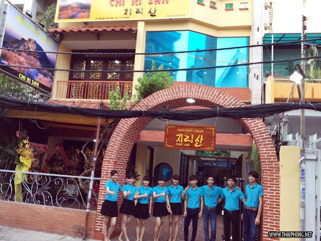 Công trình sửa nhà nâng cấp thành quán ăn Hàn Quốc