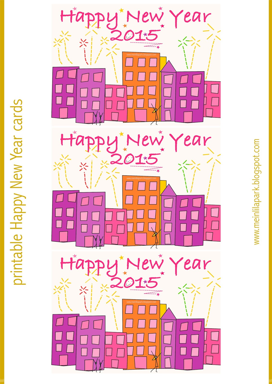 Free Printable Happy New Year