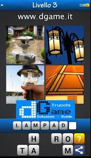 PACCHETTO 2 livello 3 - Soluzioni Trova la Parola - Foto Quiz con Immagini e Parole