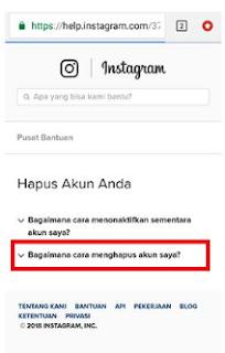 Teknokompas.com Cara Menghapus Akun Instagram Secara Permanen