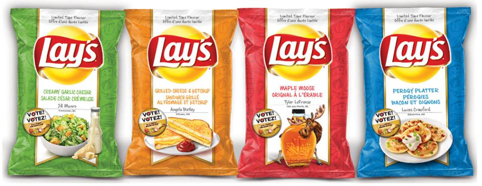 """Around the World: Lay's Canada - New Lay's """"Do Us A ..."""