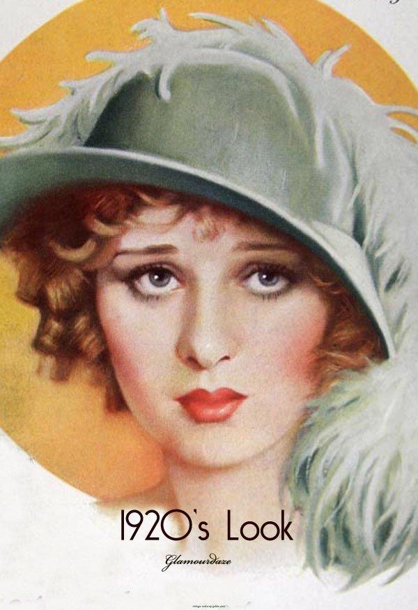 Vintage Pearl: The Look - 1920s Makeup