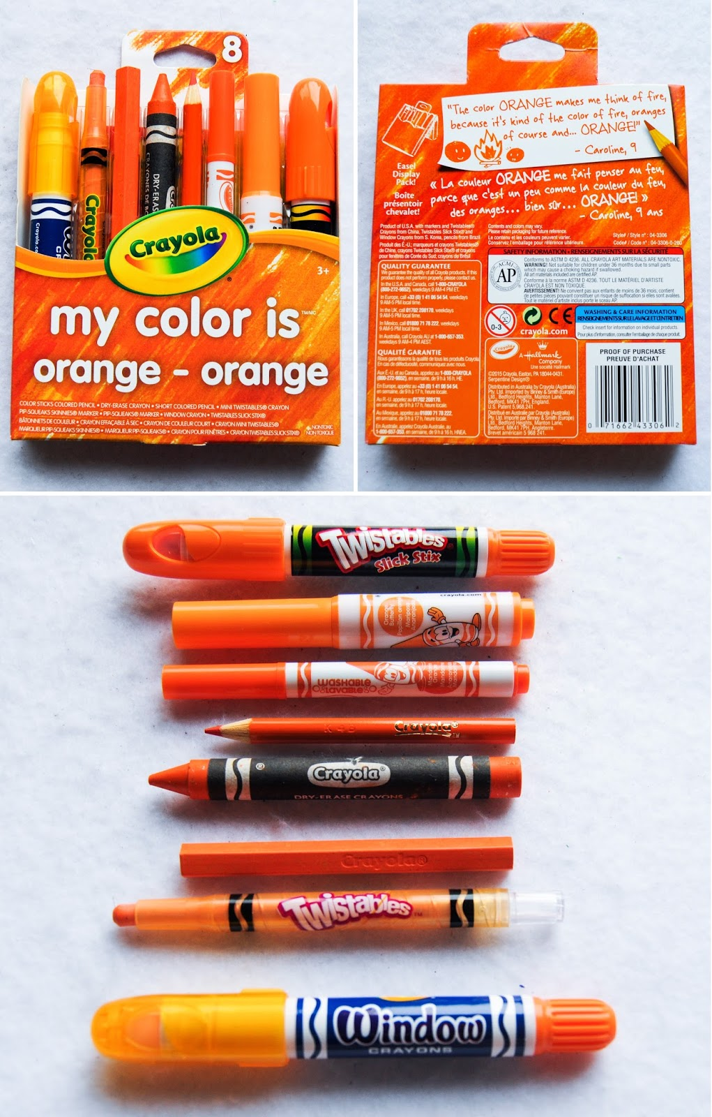 Crayola My Color Is 8 Count: What's Inside the Box   Jenny