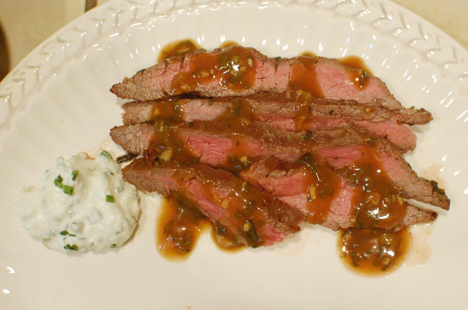 Broiled Skirt Steak 66