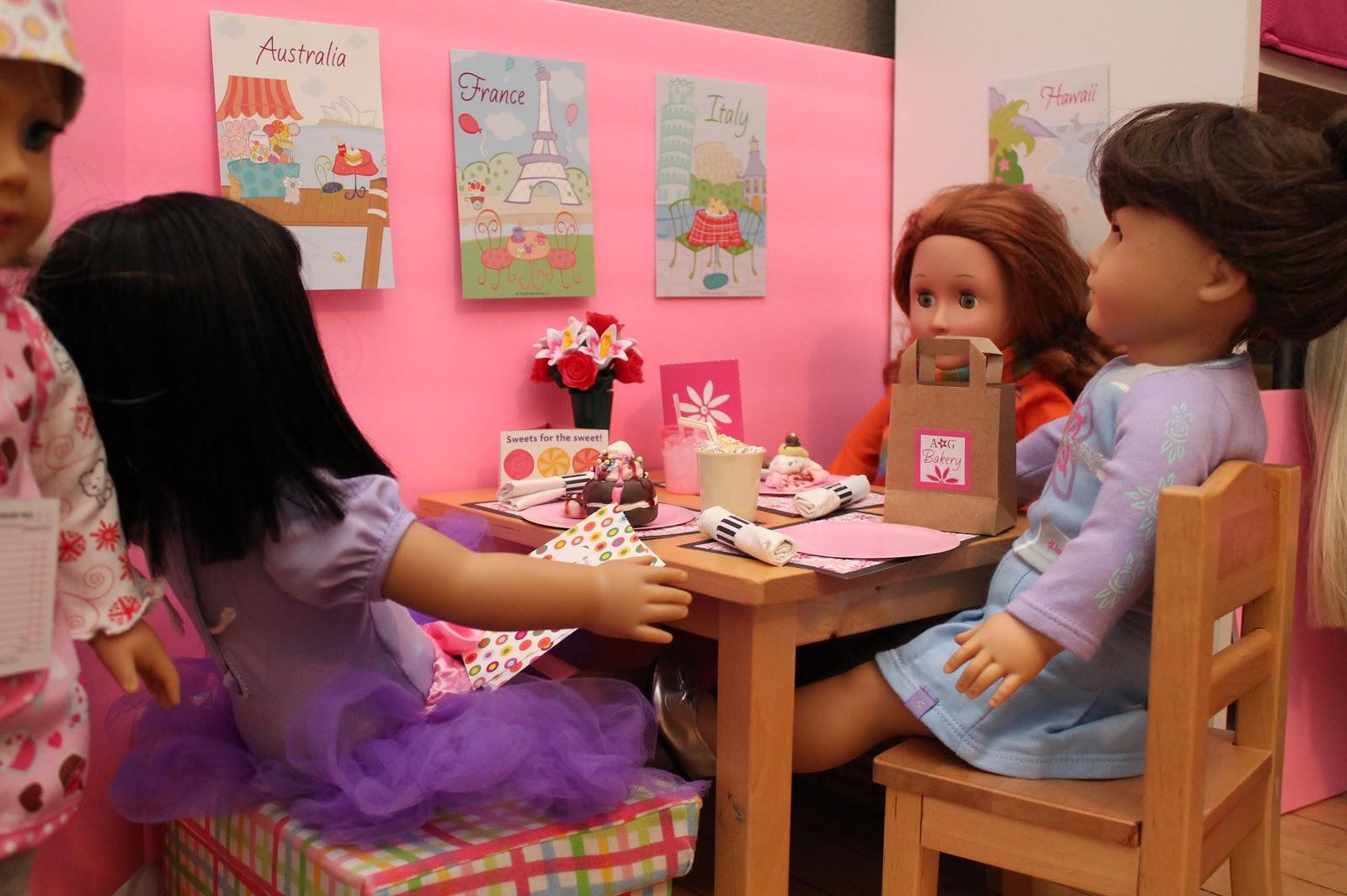 Awe Inspiring American Girl Doll Play Creating An American Girl Doll Diner Machost Co Dining Chair Design Ideas Machostcouk