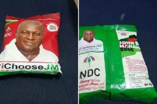 Mahama branded rice.