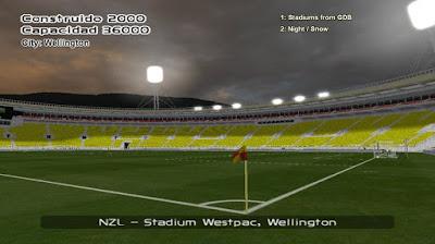 PES 6 Stadiums Westpac Stadium