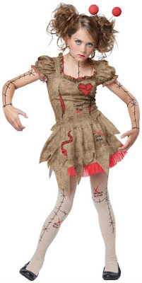 Voodoo Dolly Child Costume for Halloween