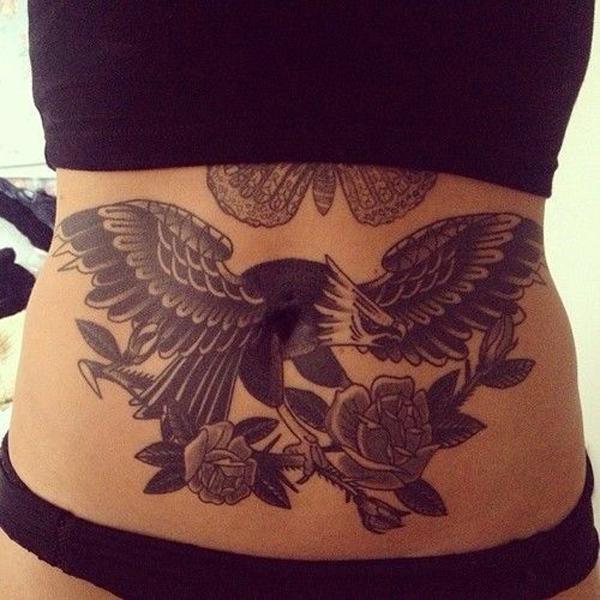 tatuajes en el ombligo