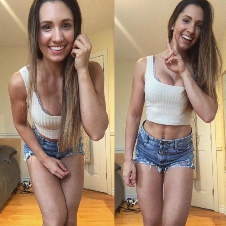 Canadian fitness model Valérie Benoit instagram