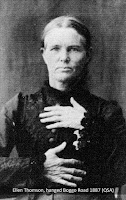 Ellen Thomson, hanged at Boggo Road Gaol, Brisbane, in 1887.