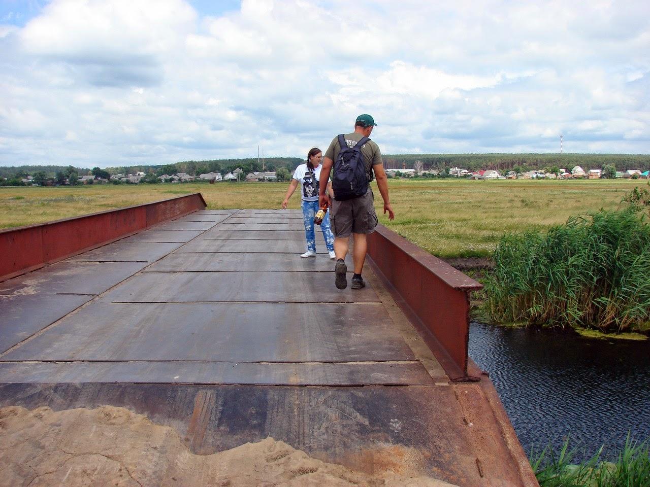 Мост через реку Мжа