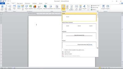 Cara Membuat Kop Surat gambar 1