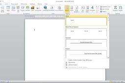 Cara Membuat Kop Surat Di Microsoft Word Untuk Pemula