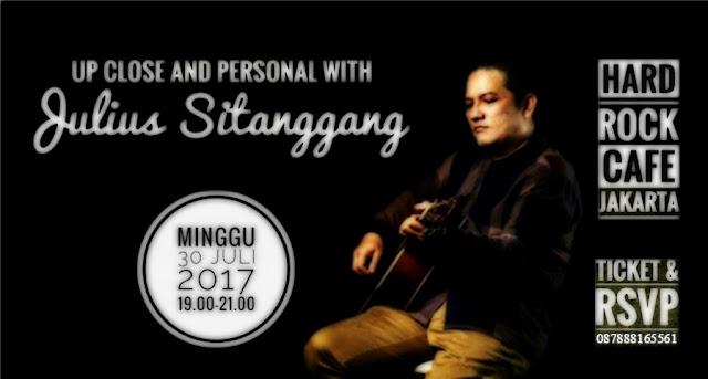 Poster Konser Julius Sitanggang. (Dokumentasi Istimewa)