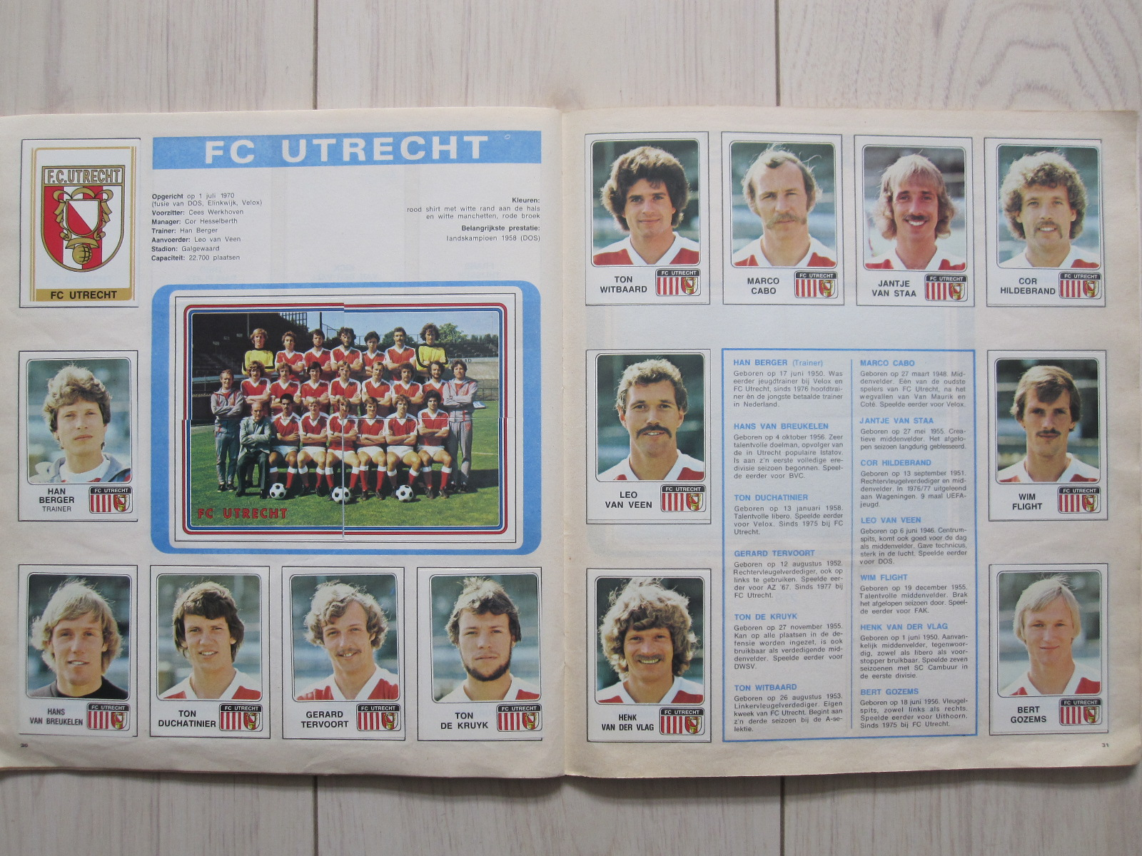 Only good stickers panini voetbal 79 - Netherlands eerste divisie league table ...