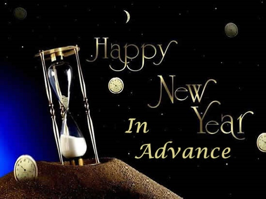 Happy New Year in Advance Messages and Wishes