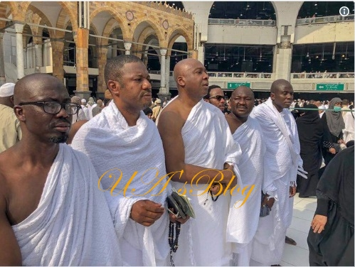 PHOTO: Saraki performs the Umrah