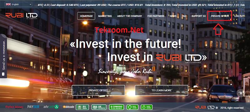 [SCAM] Review Rubi-Ltd : Lãi 2.52% - 7.73% hằng ngày - Đầu tư tối thiểu 10$ - Thanh toán Manual