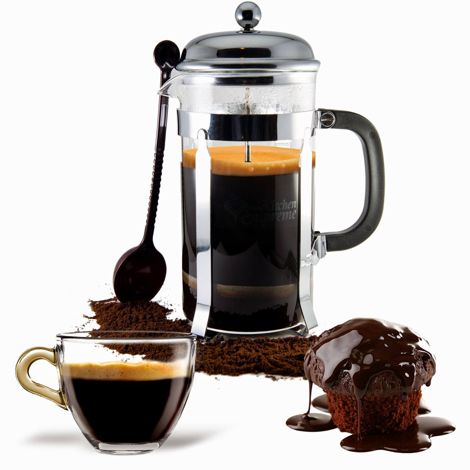 French Press Inspired Coffee Drinks