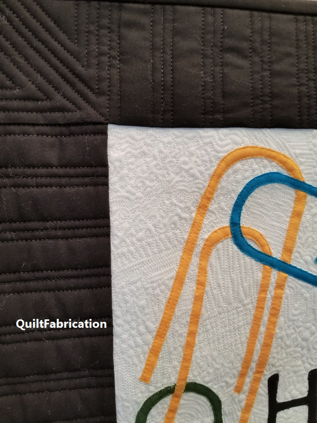 Hold It Together border quilting