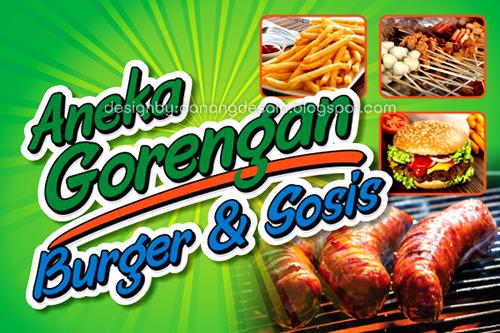 Contoh Desain Banner Sop Buah, Juice, Bakso dan Mie Ayam ...