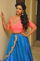 Nithya Shetty in Orange Choli at Kalamandir Foundation 7th anniversary Celebrations ~  Actress Galleries 041.JPG