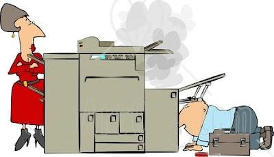 Cách đổ mực vào máy photocopy