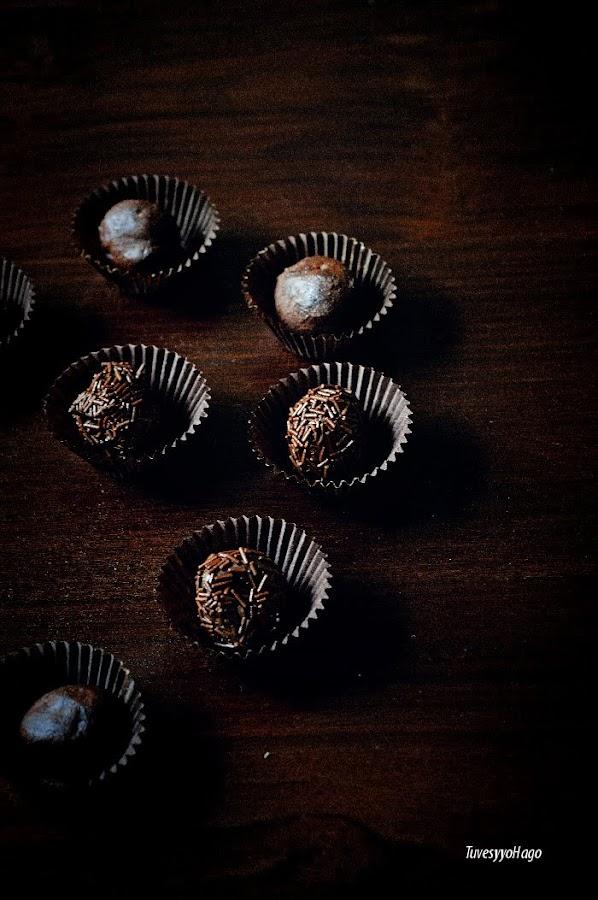 Trufas de Chocolate para niños con solo 2 ingredientes - TuvesyyoHago