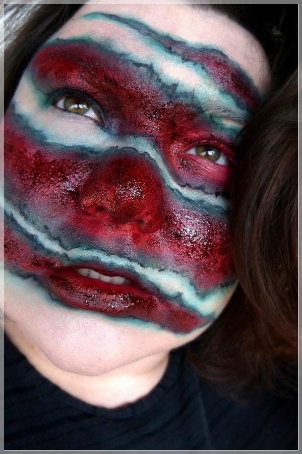 blutige Wunden schminken
