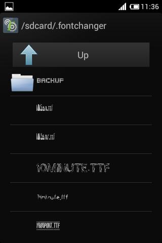 Tutorial Mengganti Fonts Di Android Ics Dengan Fontchanger 4