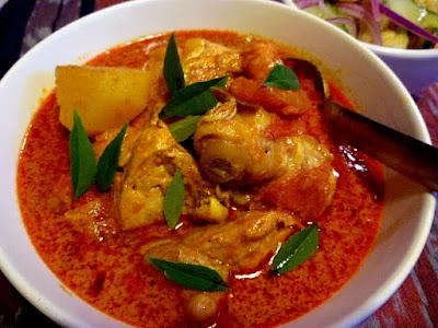 Resepi Kari Ayam Sedap, Pekat, dan Simple