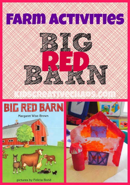 Farm Craft Fun Activities The Big Red Barn by Margaret Wise Brown