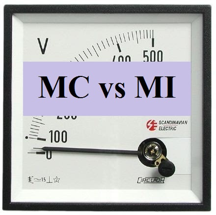 Differences Between Moving Coil (MC) And Moving Iron (MI) Instruments           |            Electrical Edition - Online Electrical Engineering Magazine